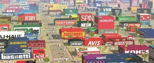 《Logorama》 商标的世界片中出现的logo商标