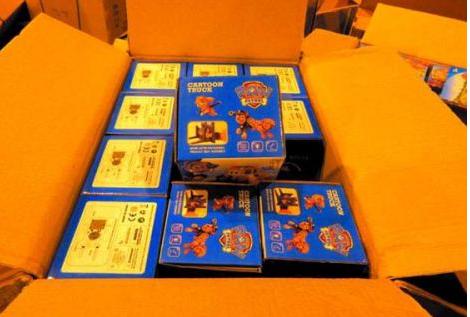 汕頭海關查獲一批假冒商標注冊玩具產品