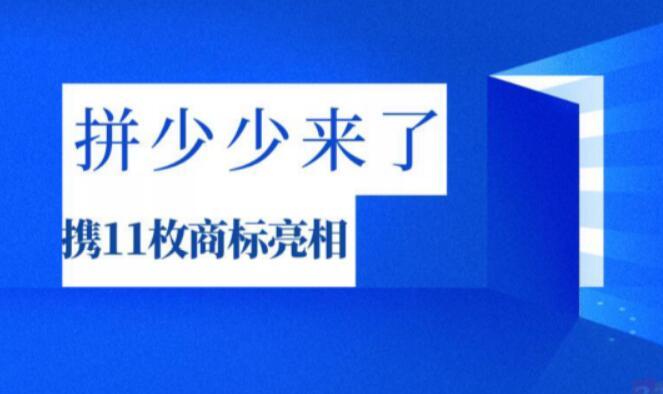 """社交电商""""拼少少""""  已申请11件商标"""