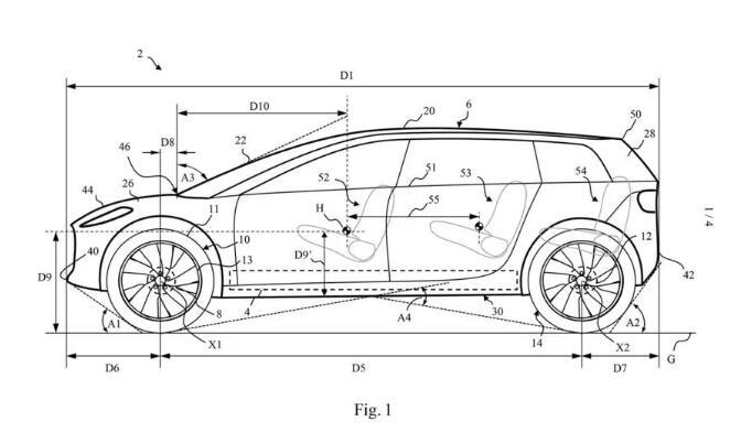 戴森电动车外观专利图正式曝光!