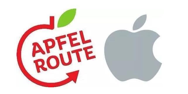 商標設計近似,蘋果商標再遭侵權