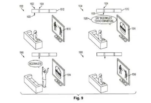 索尼趣味专利:遇到广告大喊一声,即可跳过广告时间