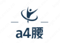"""""""a4腰""""顺口好听的logo设计欣赏,适合减肥产品"""