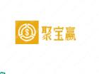 """"""" 聚寶贏""""logo 設計賞析,適合金融行業"""