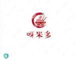 三个字的食品的logo设计:呀米多